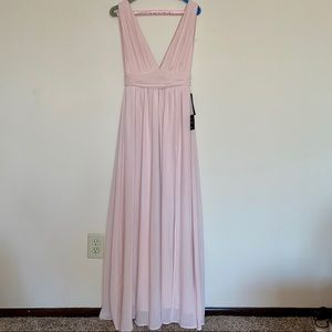 Lulu's Light Pink Formal Dress